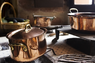 931179-antique-copper-cooking-pans